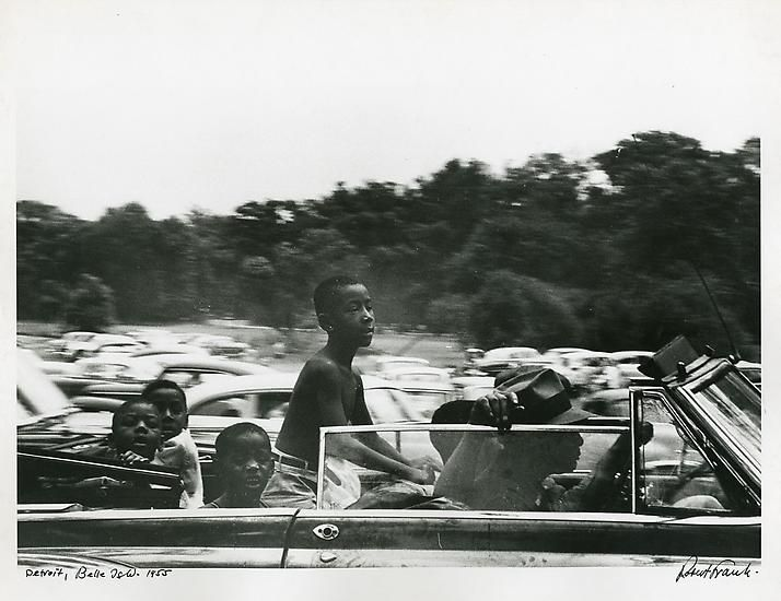 Belle Isle, Detroit, 1955.