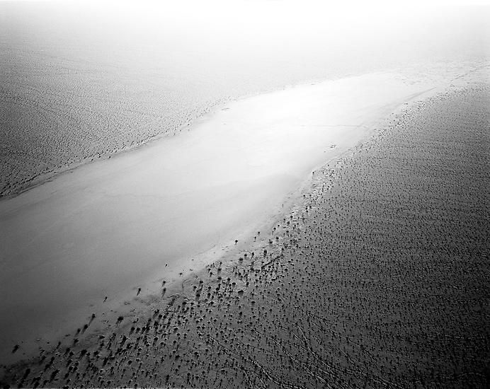 Cadiz Lake at 600', 0700 Hours, Twentynine Palms, CA; 2000, 	24 x 30 inch pigment print - Edition of 10*