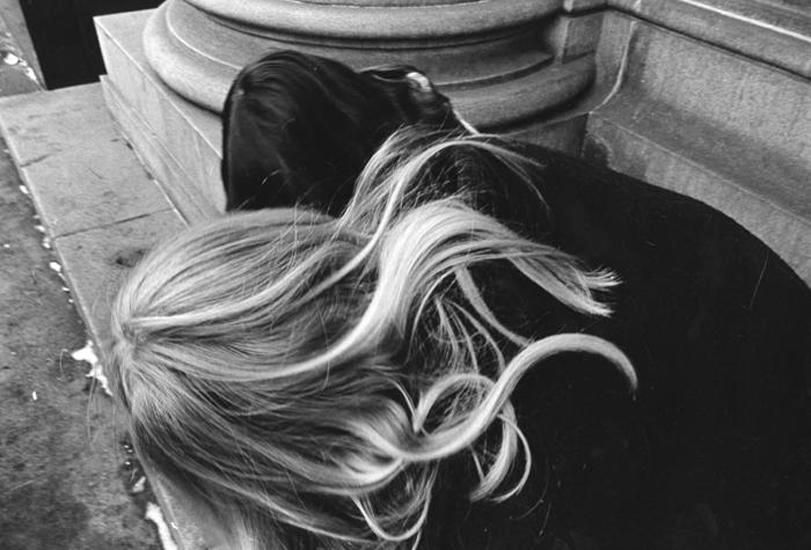 Girl's Blonde Hair, 1971, 16 x 20 inch gelatin silver print