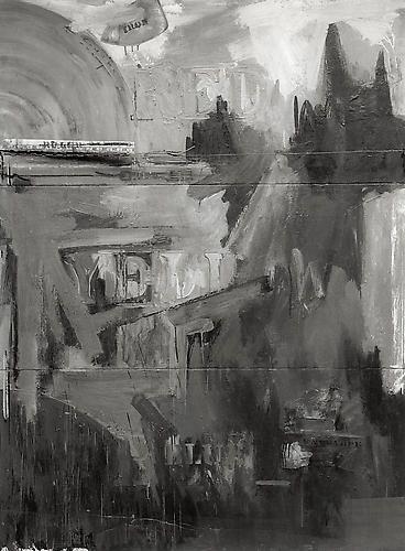 Passage, Rudolph Burckhardt, 8x10 inch Silver Gelatin Print
