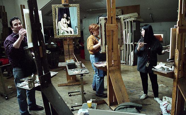Mandy Corrado. Palette & Chisel Painting Studio, 2004.