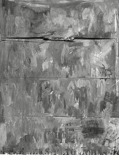 4 The News, Rudolph Burckhardt, 8x10 inch Silver Gelatin Print