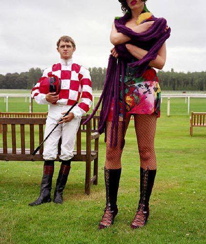 Jockeys (Purple Scarf), 2004