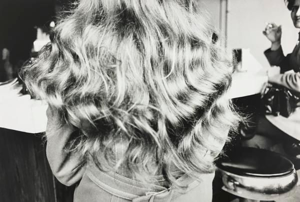 Hair, Bar Stool. 1972, 	11 x 14 inch gelatin silver print