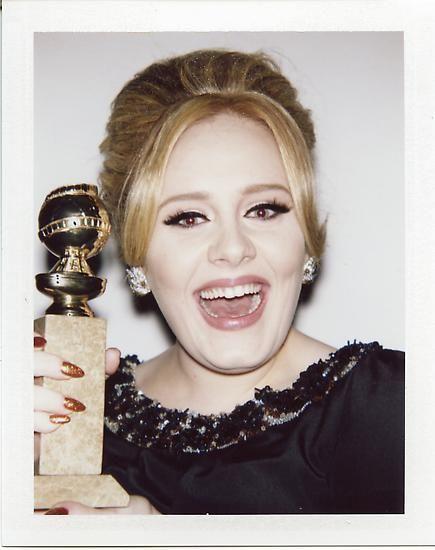 """Adele, 2013, 3.5"""" x 4.25"""""""