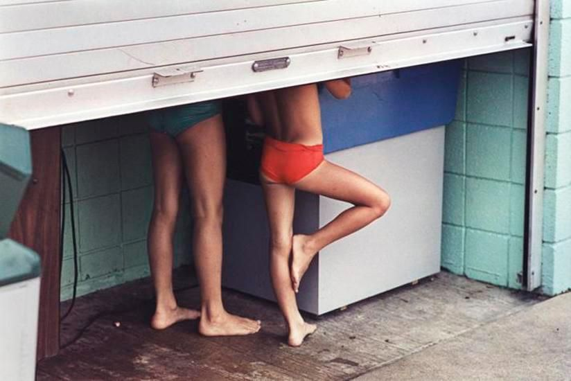 Young Limbs, Harvey's Lake, PA, 1981, 14 x 17 inch dye transfer print