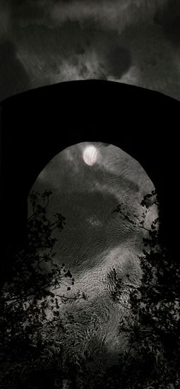 Susan Derges, Descending Moon Bridge, 2013