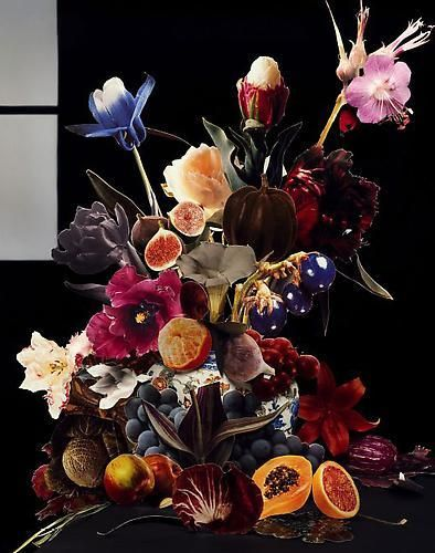 Scheltens and Abbenes.  Bouquet IX.  2008.   48 x 40 inch Enduraflex print.