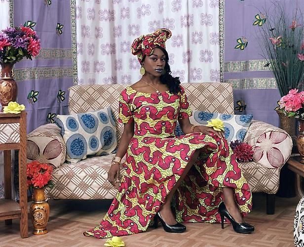 Mickalene Thomas. Two Wives: Nollywood 11, 2010.