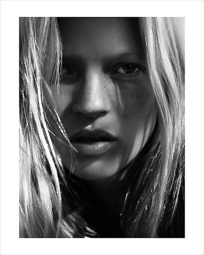 David Sims. Kate Moss. 2006.