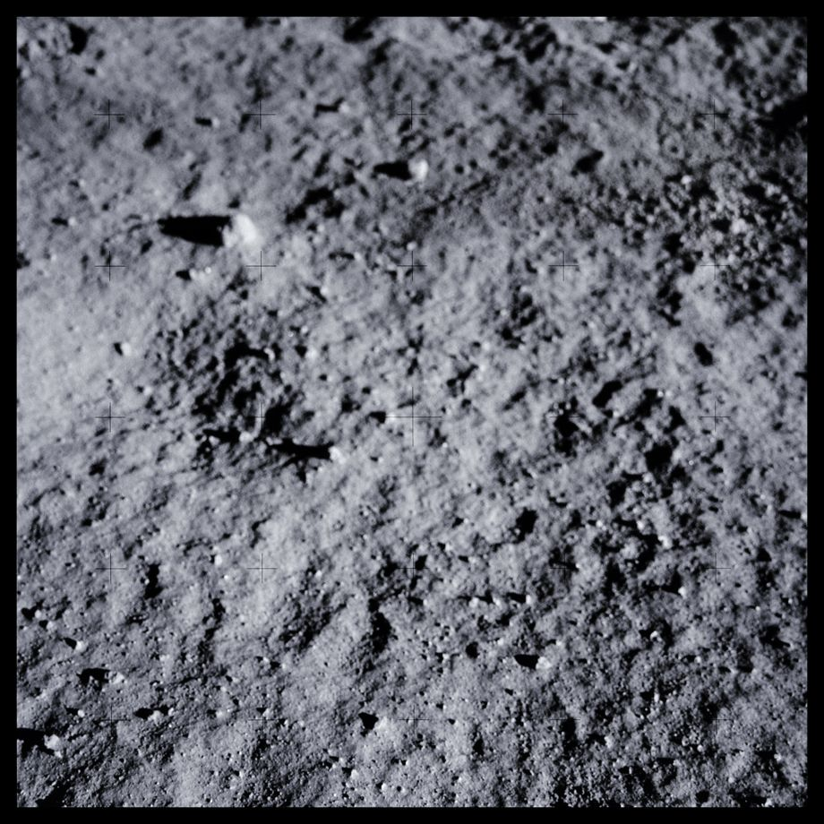 047Pre-Contact Lunar Soil; Photographed by