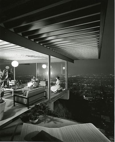 Julius Shulman. Case Study House #22. Los Angeles. 1960.