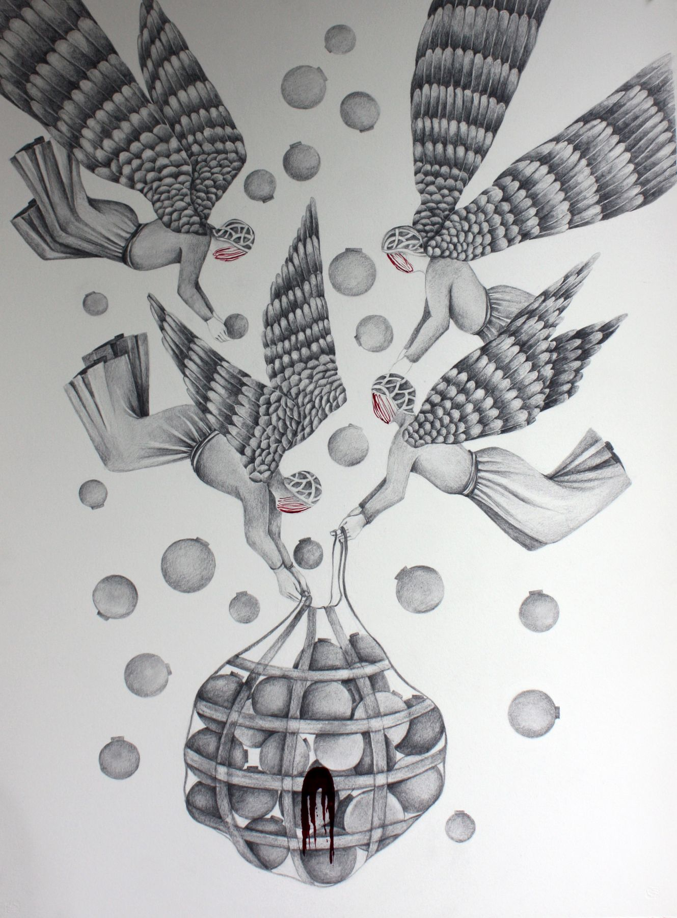 Shiva Ahmadi, Drawing