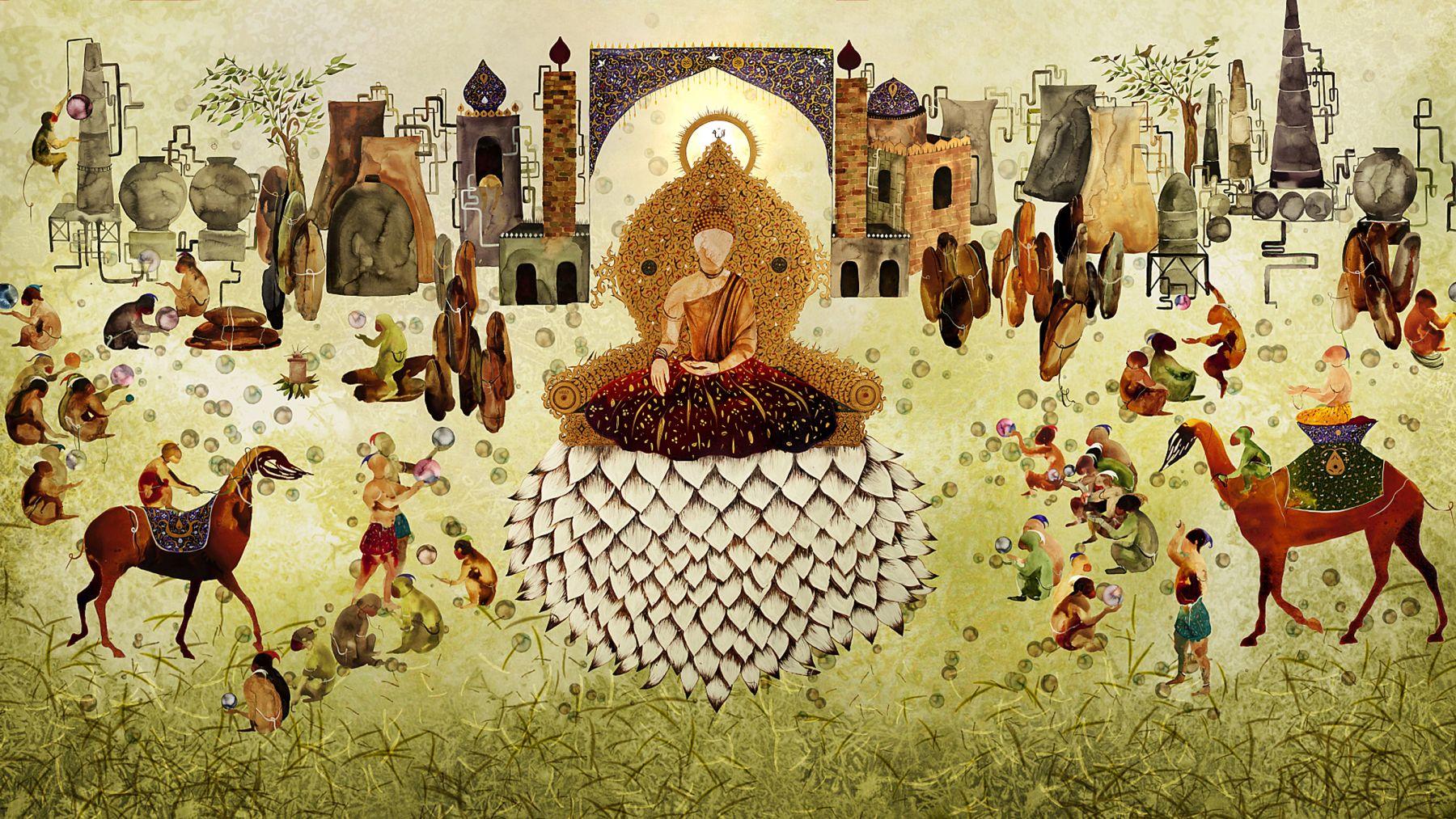 Shiva Ahmadi, Lotus animation