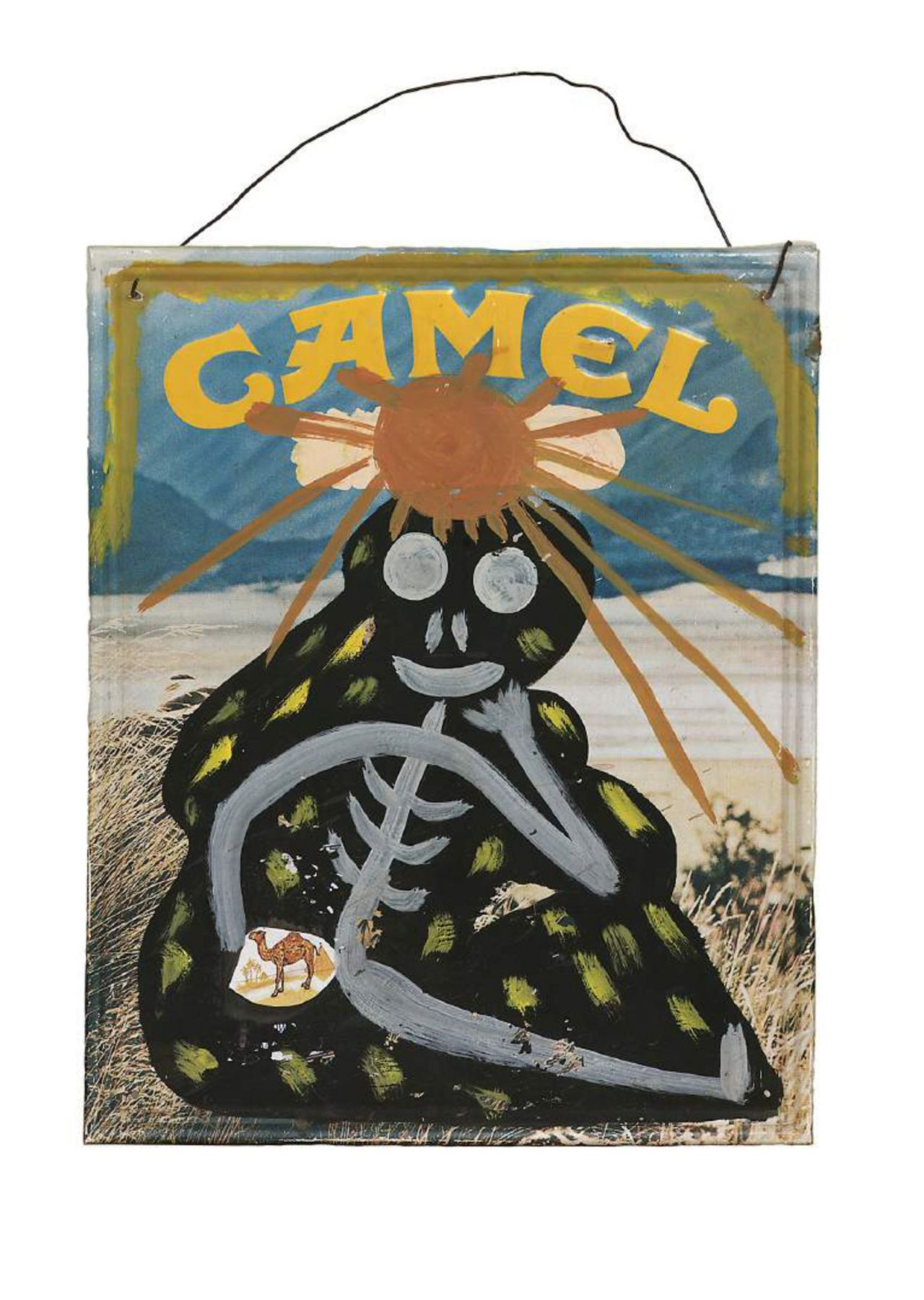 Lonnie Holley, Camel in the Brown Sun,1989