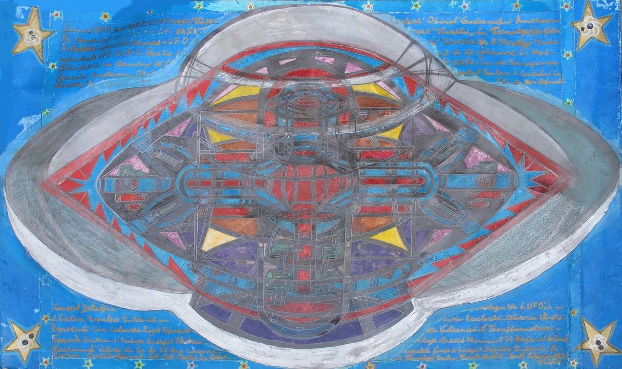 Ionel Talpazan, Diagram of a UFO,1996
