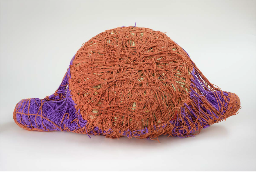 Judith Scott(1943-2005) USA, Untitled, 1993, Fiber and found objects, 20 x 36 x 10 in