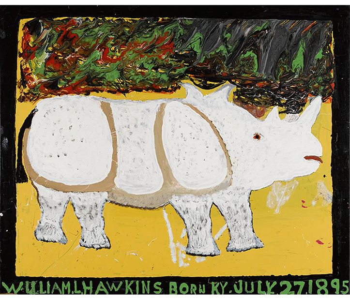 William Hawkins Rhinoceros, 1985