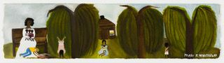Mary Whitfield Narrative: Bessie's Headstand, In Memory of my sister Bessie and my brother Greg, 2002