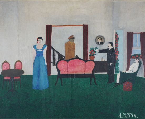 Horace Pippin Deep are the Roots, 1945