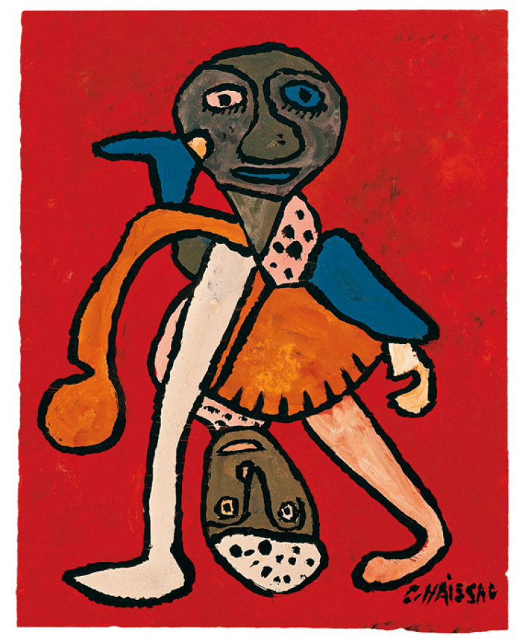 GastonChaissac Untitled, c.1949