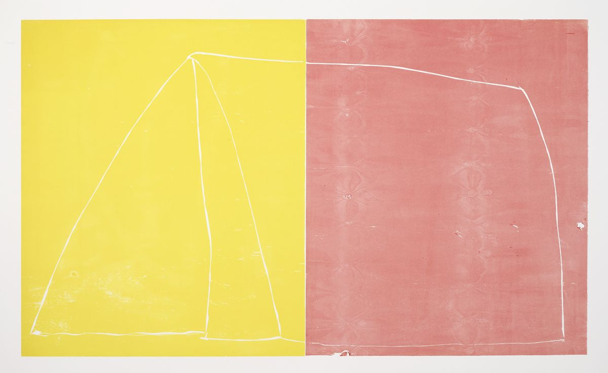 Andrea Büttner Tent (two colours), 2012