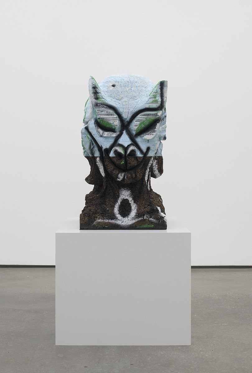 Huma Bhabha, Four Nights of a Dreamer, 2018