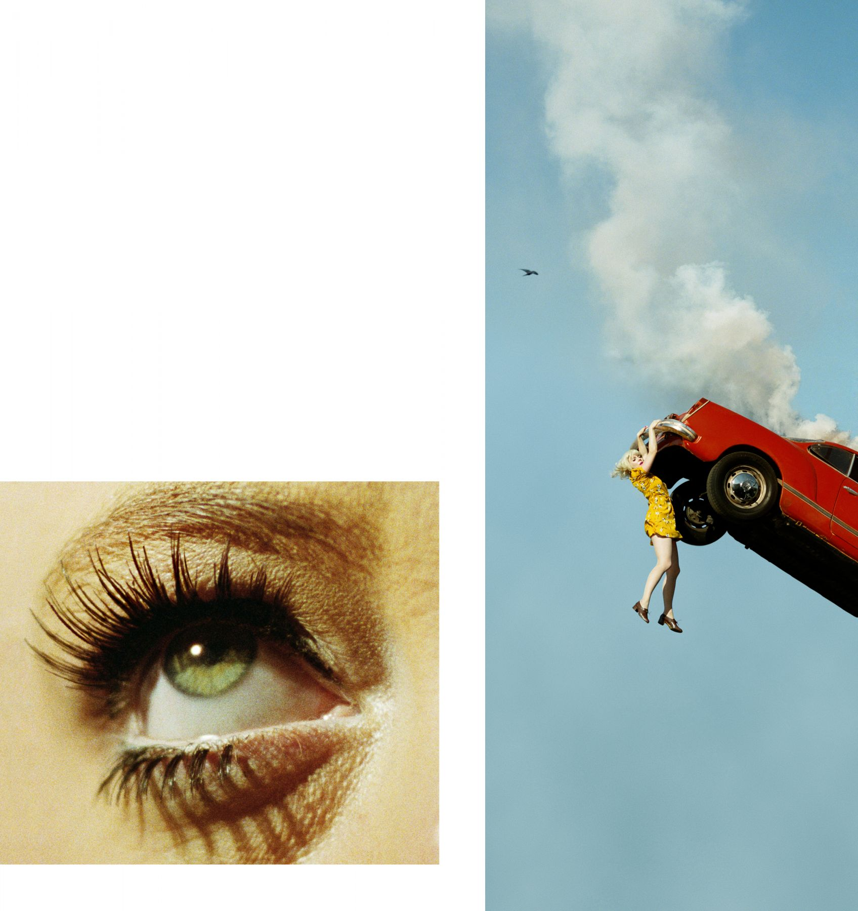 ALEX PRAGER, 3:32 pm, Coldwater Canyon and Eye #5 (Automobile Accident), 2012