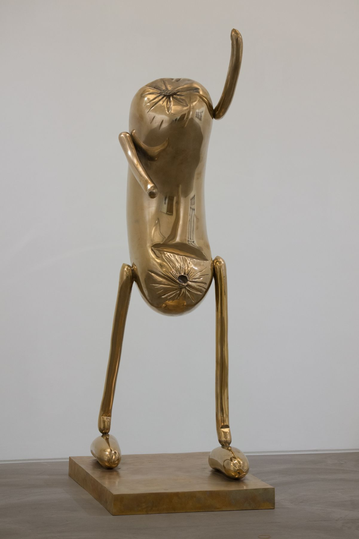 ERWIN WURM Abstract Sculptures (Step), 2014