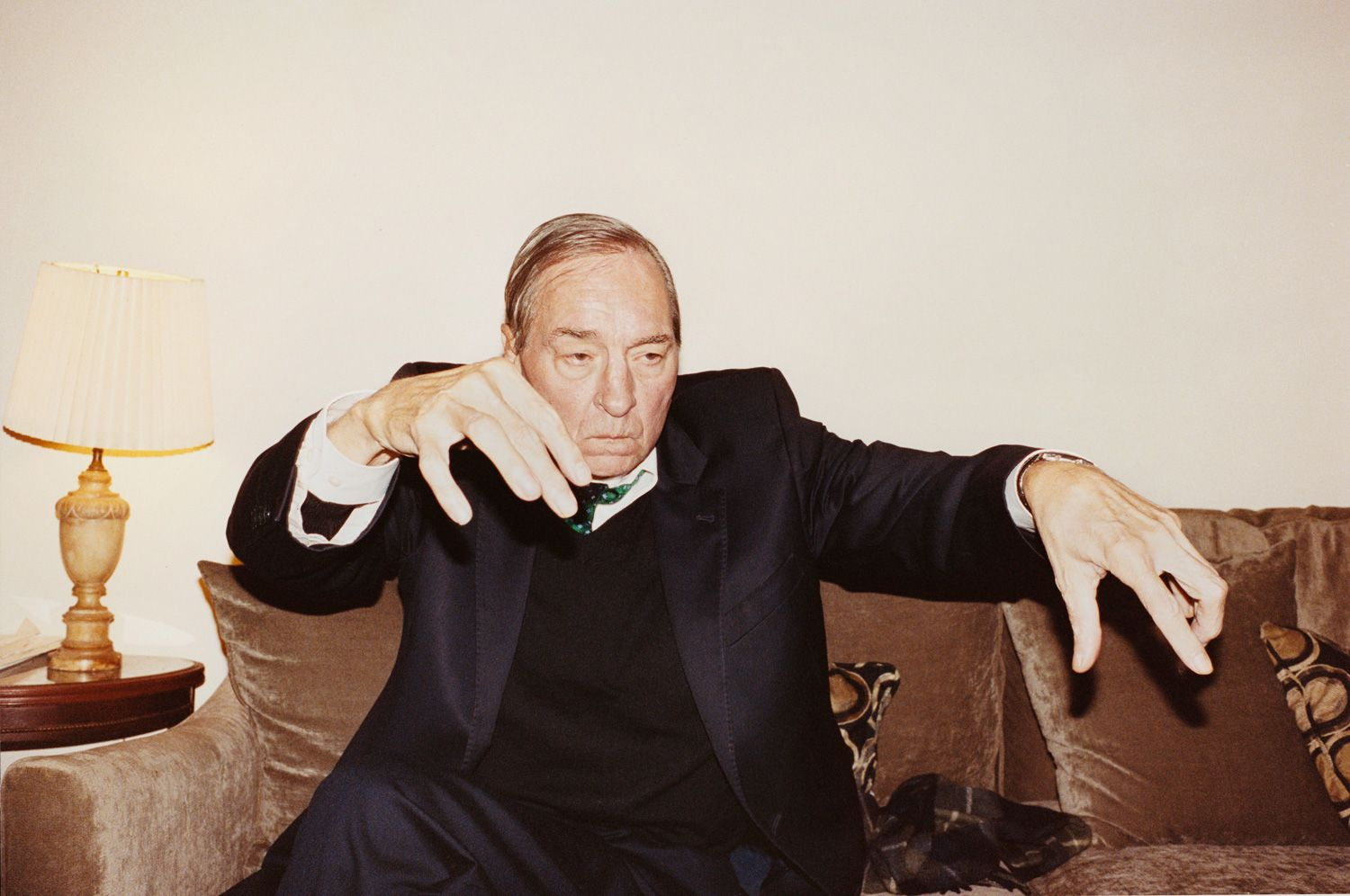 JUERGEN TELLER, Men and Women, No. 13, Memphis / William Eggleston listening to Tchaikovsky, 2010