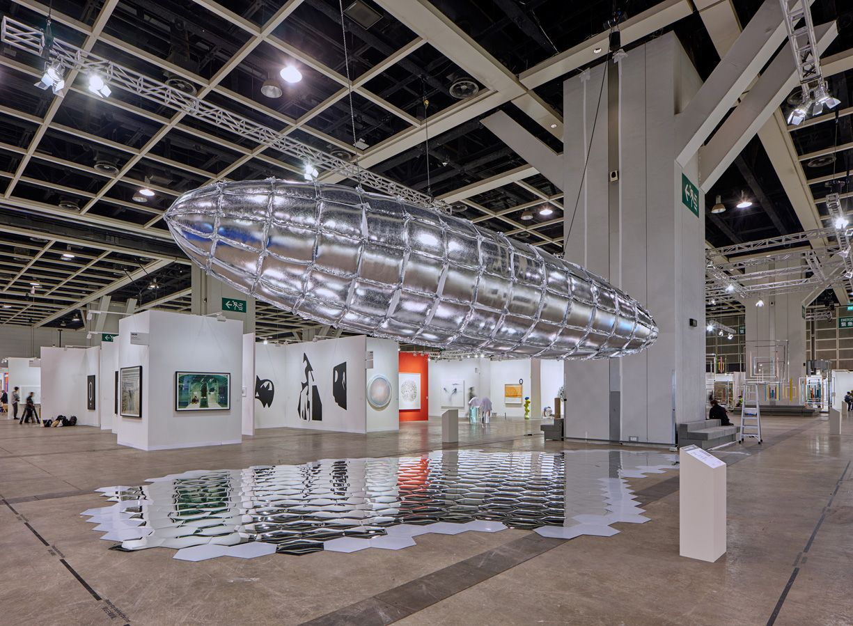 LEE BUL, Willing To Be Vulnerable - Metalized Balloon V3, 2015/2019