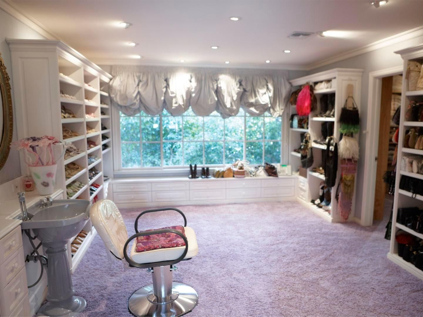 CATHERINE OPIE The Shoe Closet from the 700 Nimes Road Portfolio, 2010-11