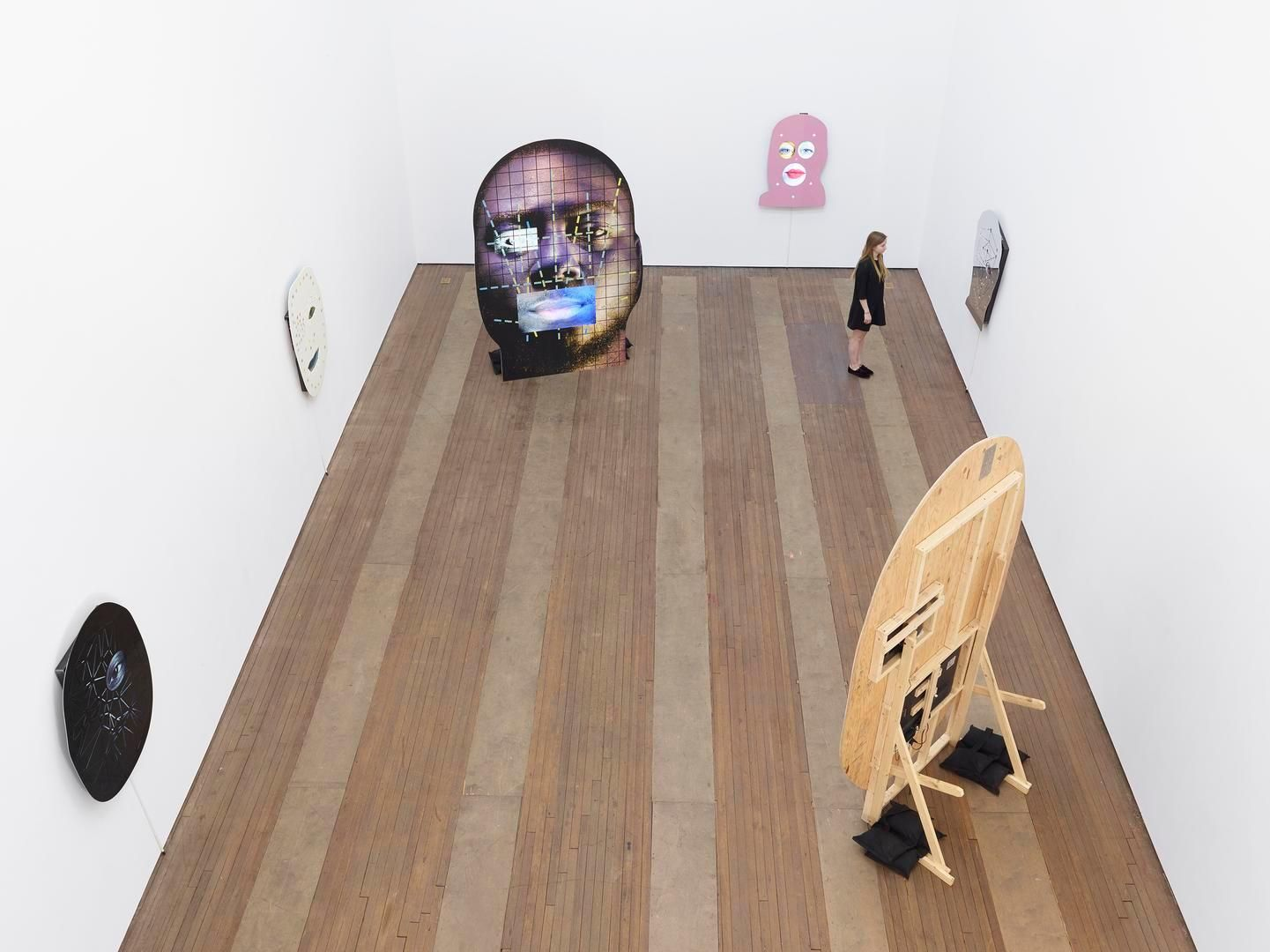 Tony Oursler Installation view 5