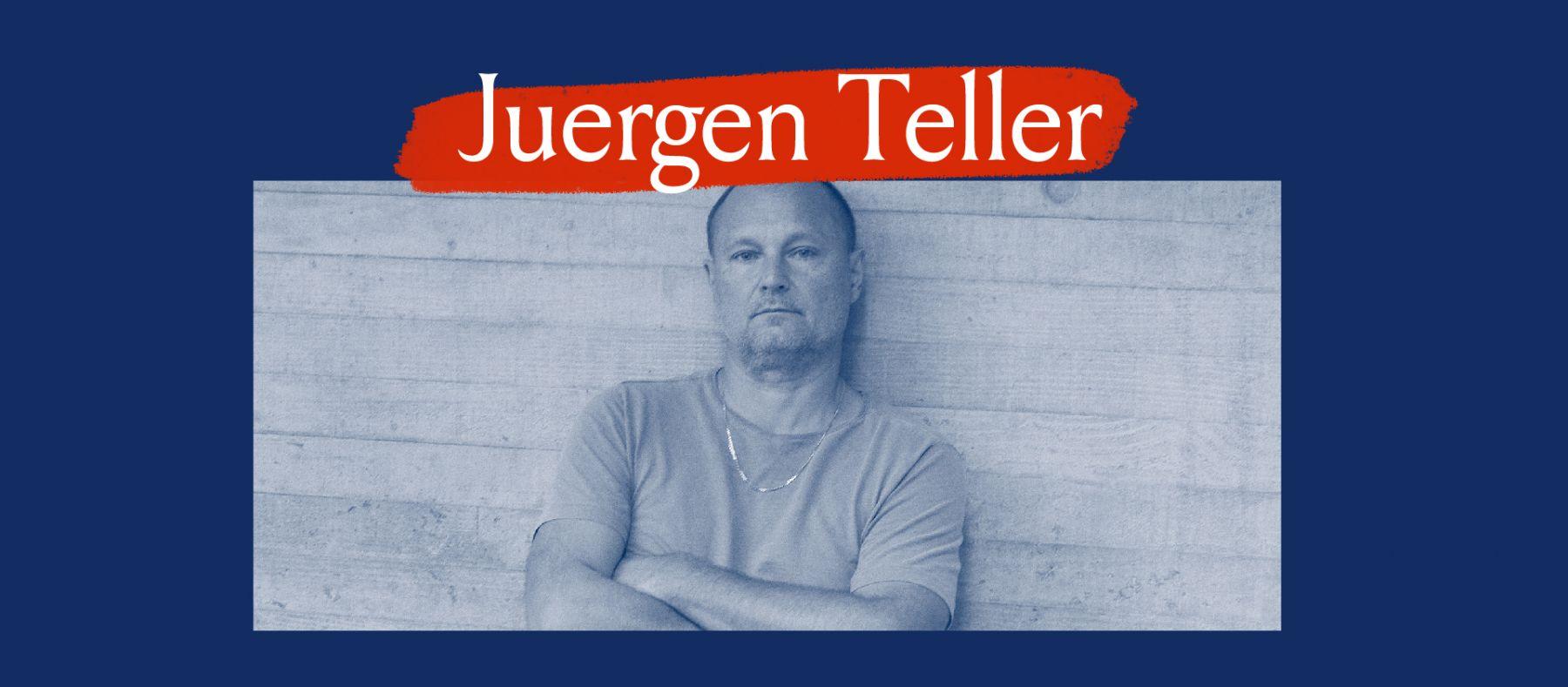 Juergen Teller Portrait Banner