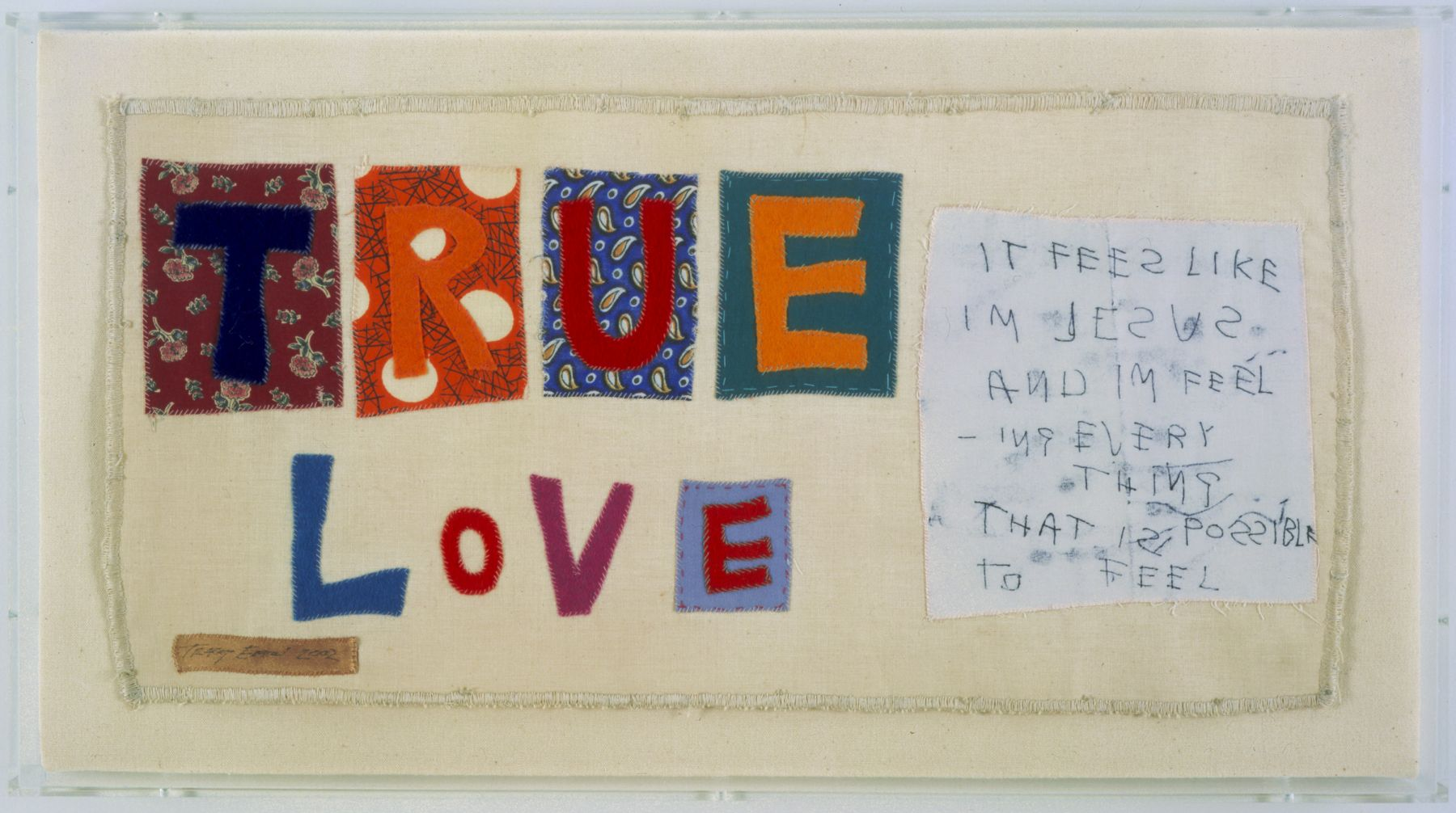 TRACEY EMIN, True Love, 2002