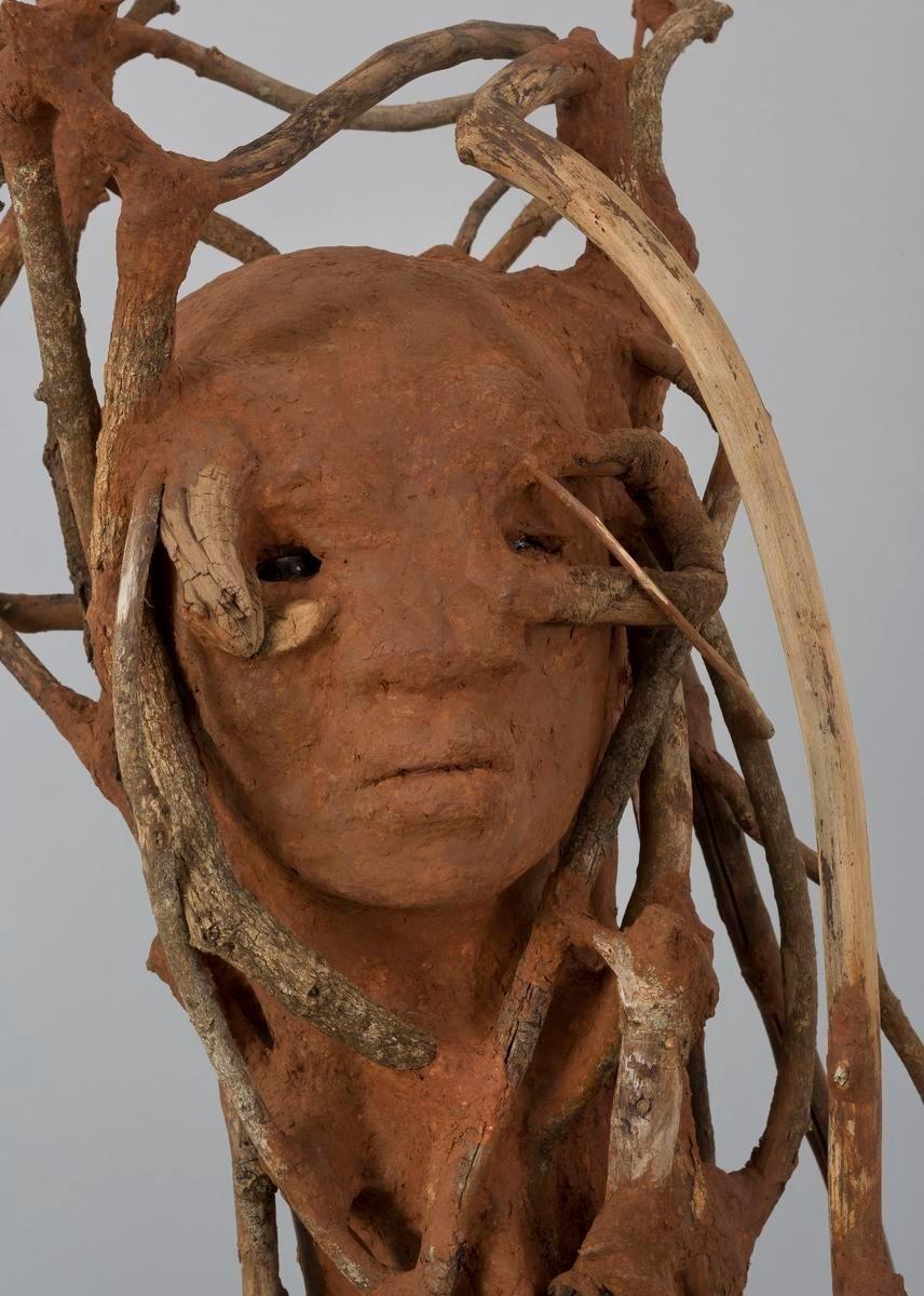 WANGECHI MUTU The Sticks, 2016 (detail)