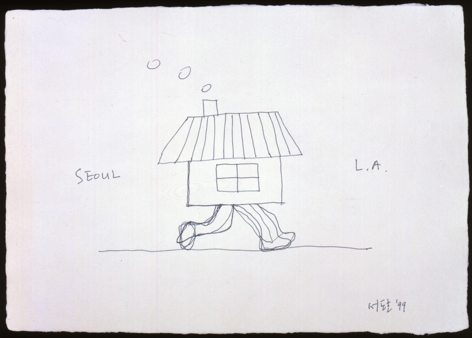 DO HO SUH, Seoul Home/L.A. Home, 1999