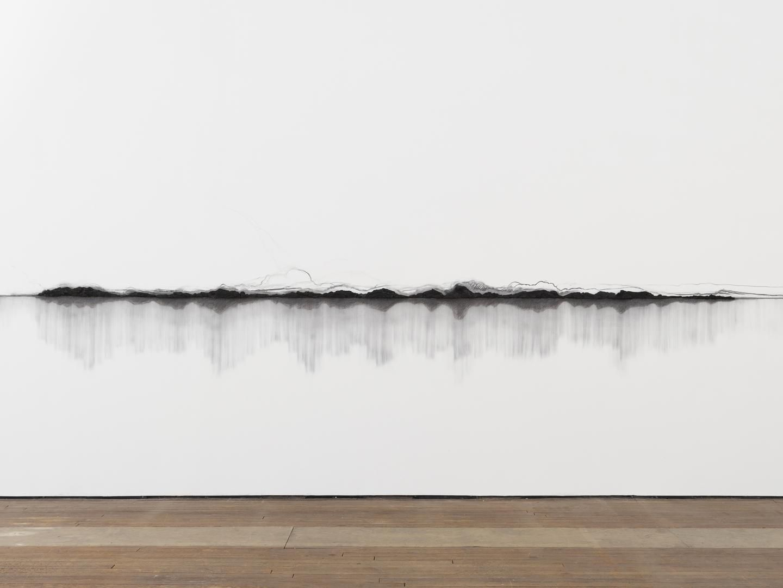 TERESITA FERNÁNDEZ Charred Landscape (America)(detail), 2017