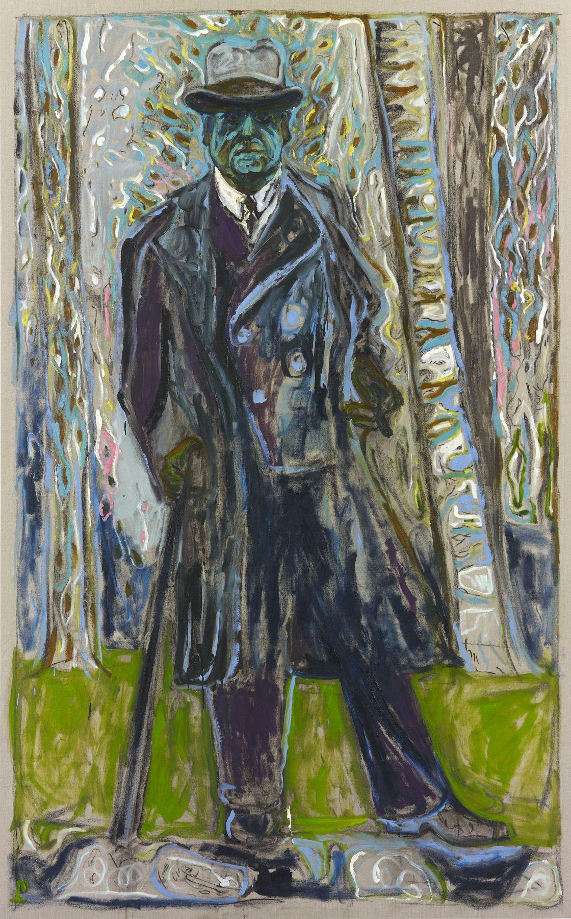 BILLY CHILDISH Sibalius (Man with Stick), 2011