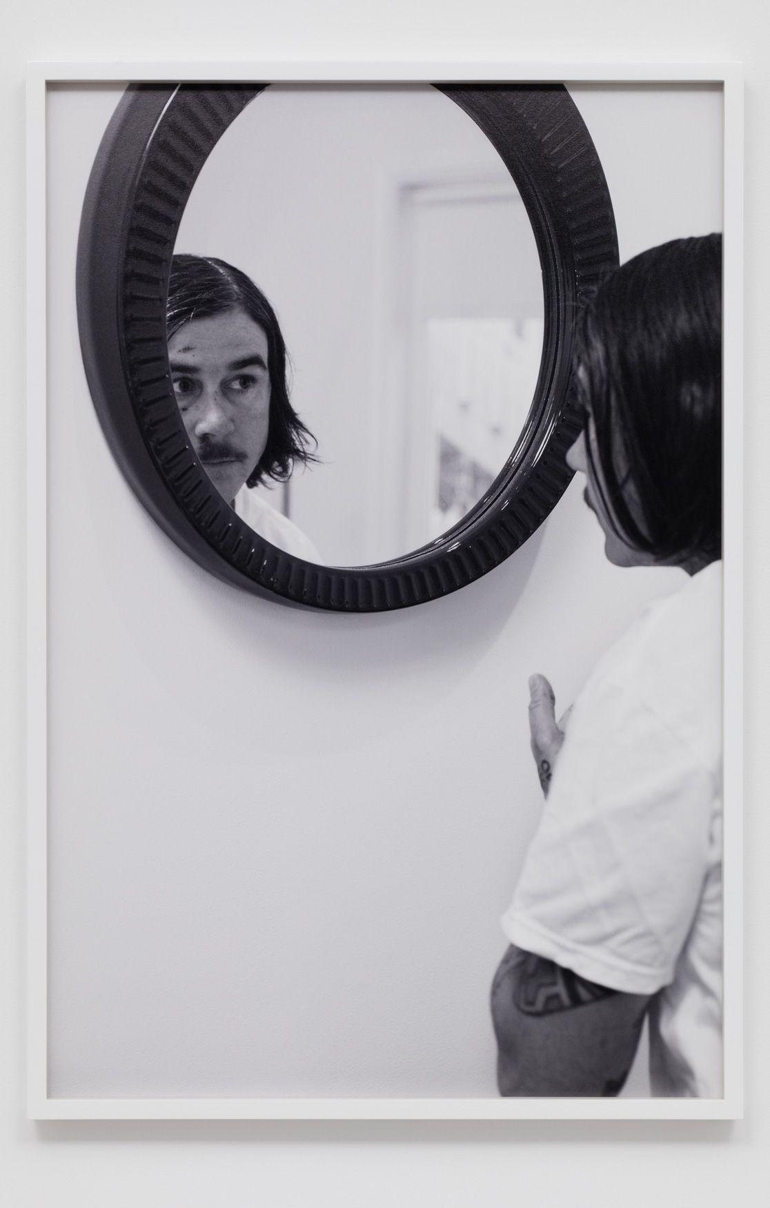 CATHERINE OPIE, Mirror #1 (The Modernist), 2016