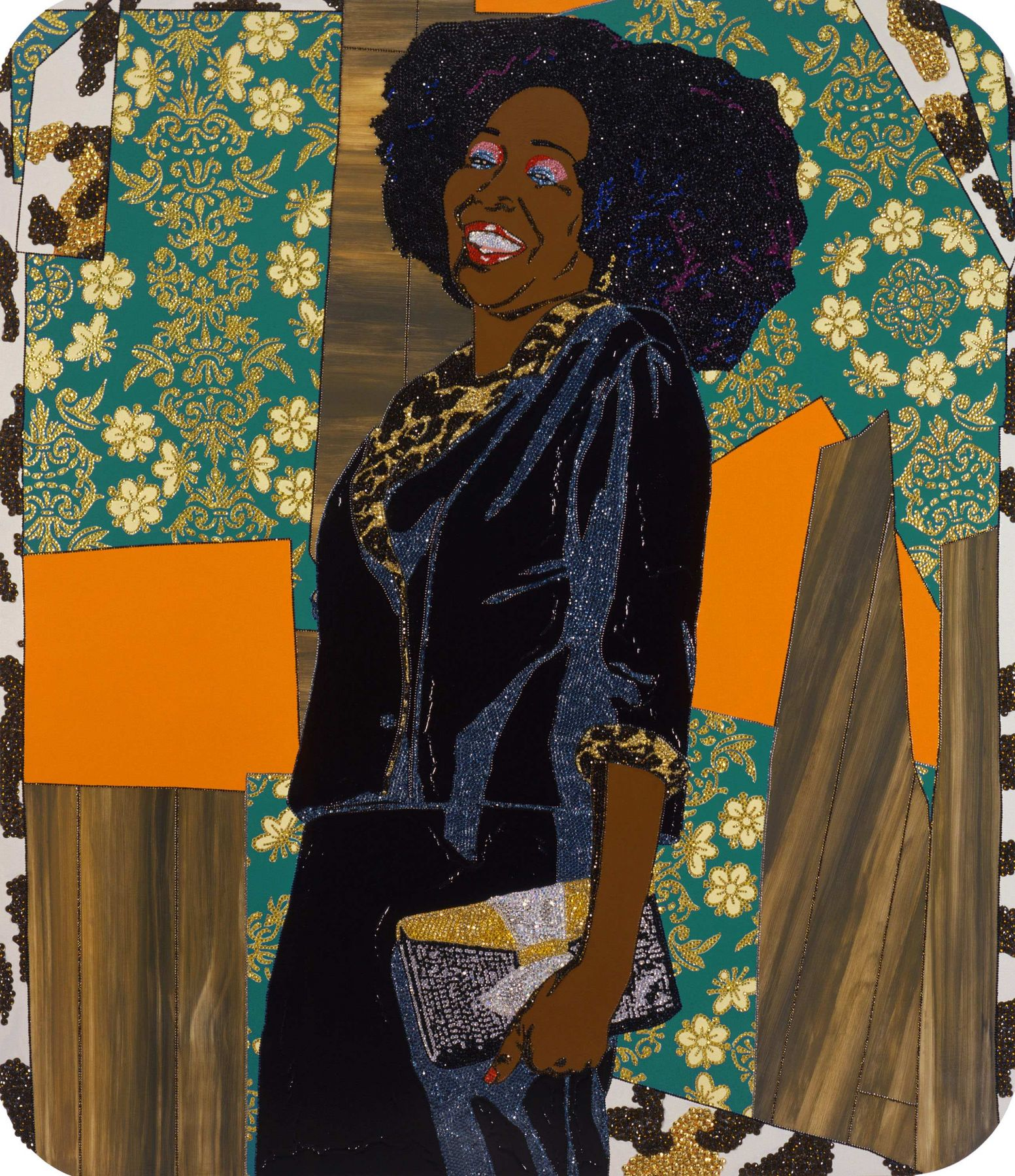 MICKALENE THOMAS, Mama Bush: (Your love keeps lifting me) higher and higher, 2009