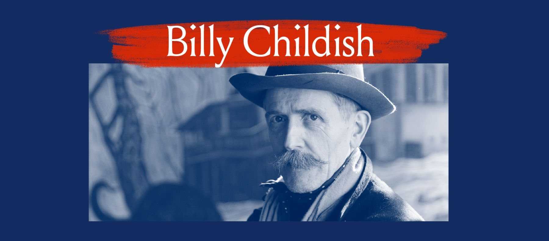 Billy Childish Portrait Banner