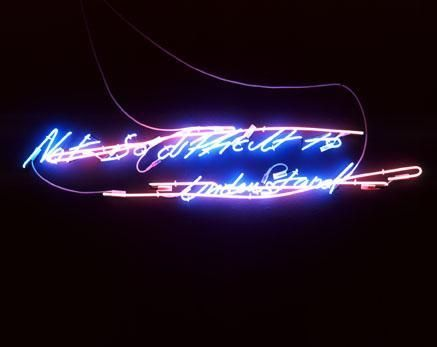 TRACEY EMIN Not so difficult to understand, 2002