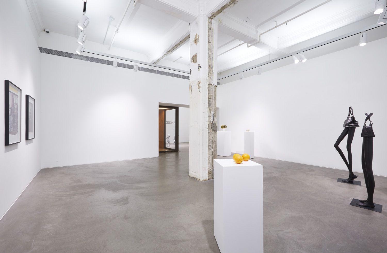 Erwin Wurm, Installation view, Lehmann Maupin, Hong Kong, 2019
