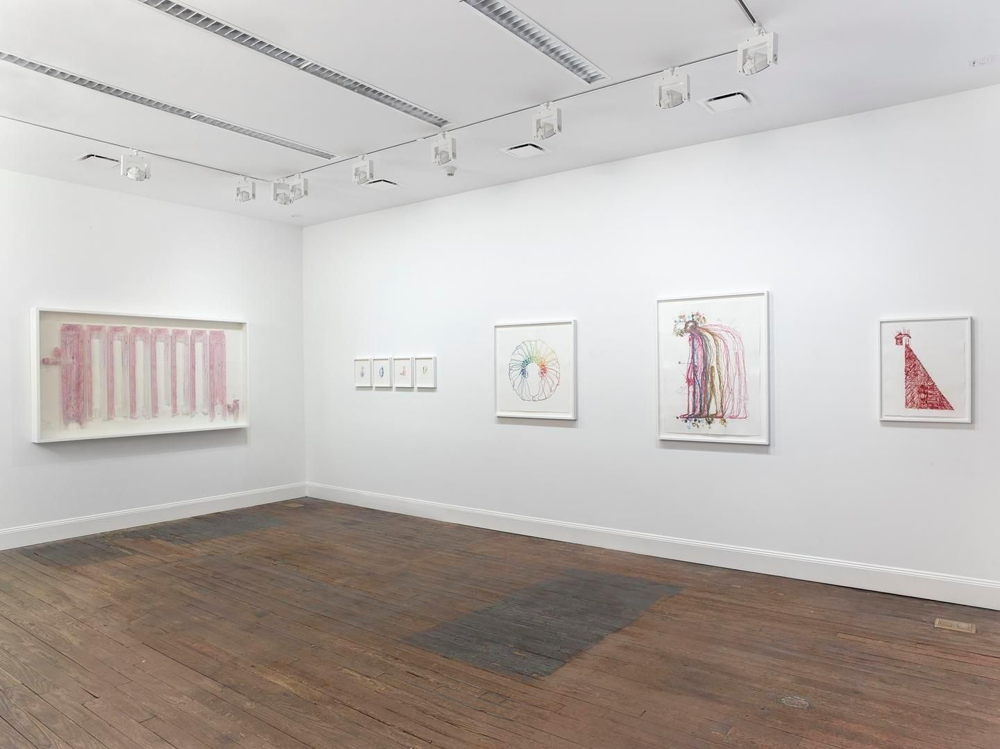 Drawings Installation view, 201 Chrystie Street, New York