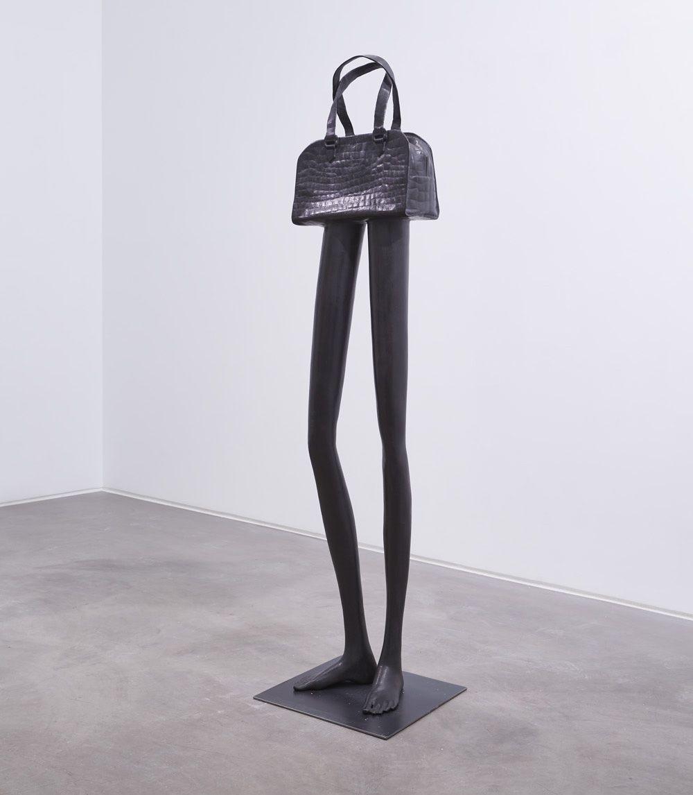 ERWIN WURM, Tall bag YSL, 2019