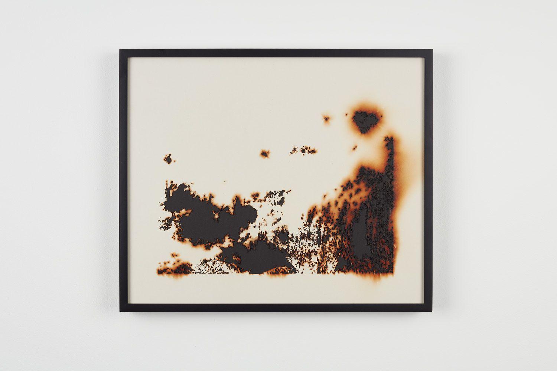 TERESITA FERNÁNDEZ Burned Landscape (America) 3(detail),2017