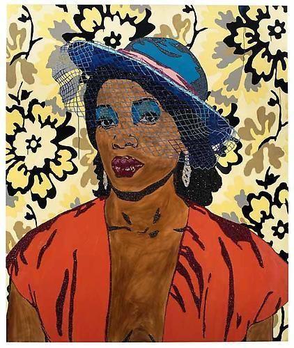 MICKALENE THOMAS Qusuquzah, une très belle négresse #2, 2011