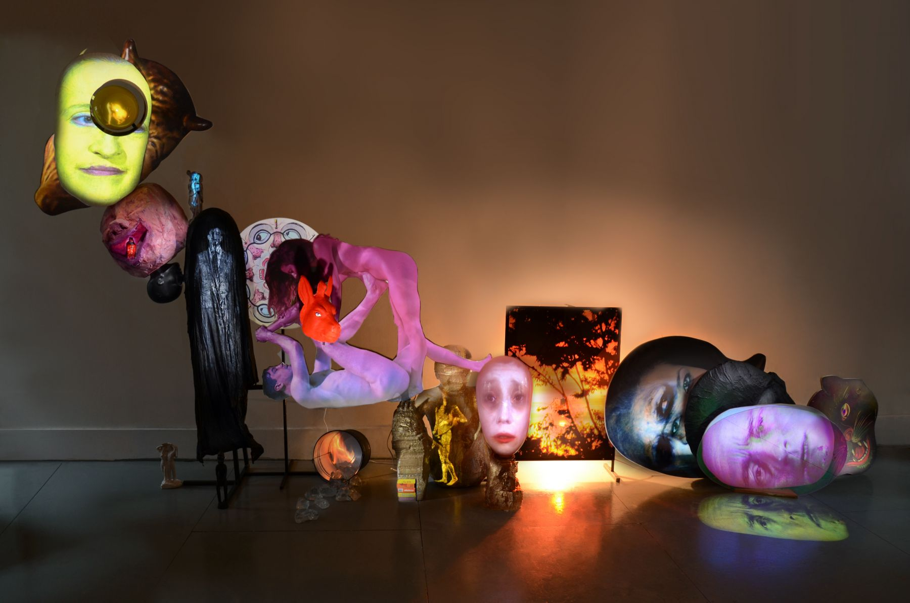 TONY OURSLER, Bound Interrupter, 2012