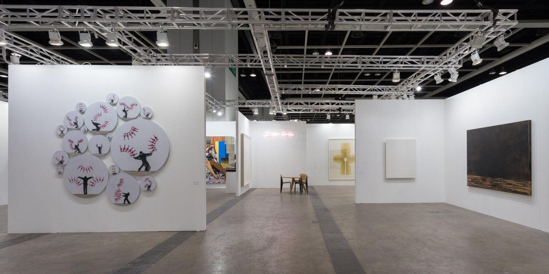Installation view, Booth 1C08, Art Basel Hong Kong 2015